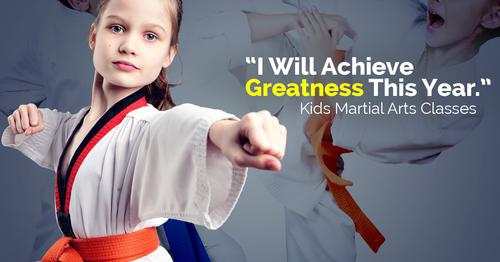 Children's Martial Arts Classes - New Year's Special