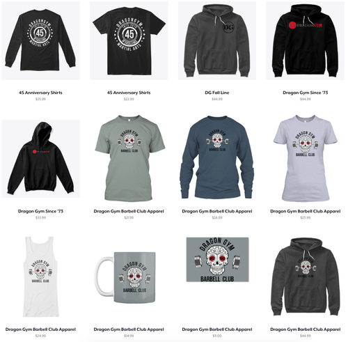 Get your DG Gear Online Here!