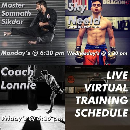 Join Us! - Streaming Follow Along Workouts