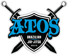 Logo Recognizing Dragon Gym Martial Arts & Fitness's affiliation with ATOS